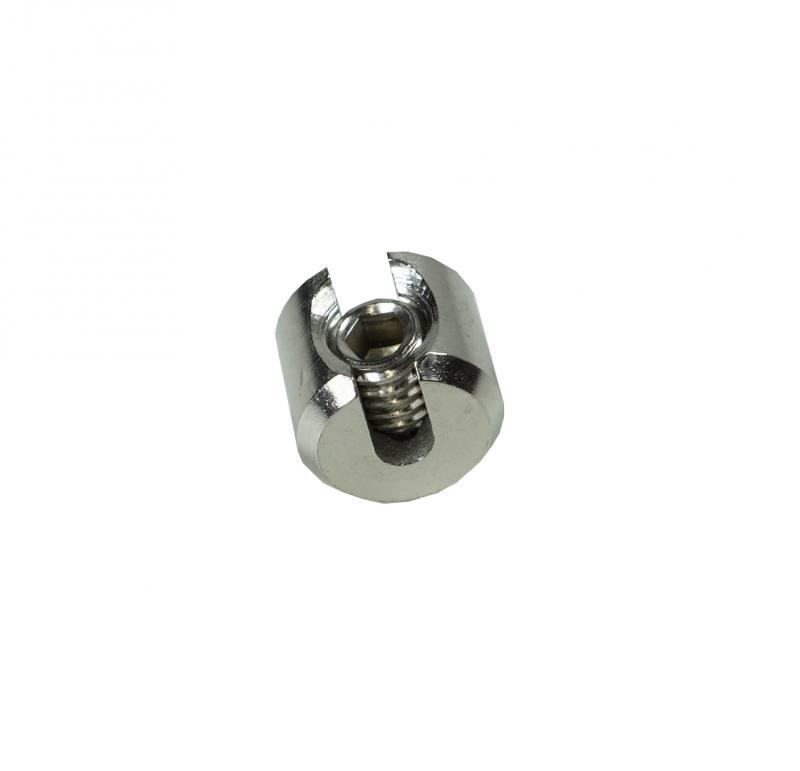 edelstahl tierbedarf edelstahl klemmstopper 5mm v4a aisi 316. Black Bedroom Furniture Sets. Home Design Ideas